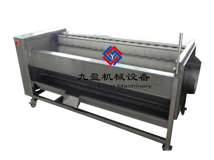 土豆清洗脱皮机JYTP-1800